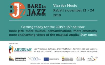 Bari in jazz a Visa for Music: melodie africane