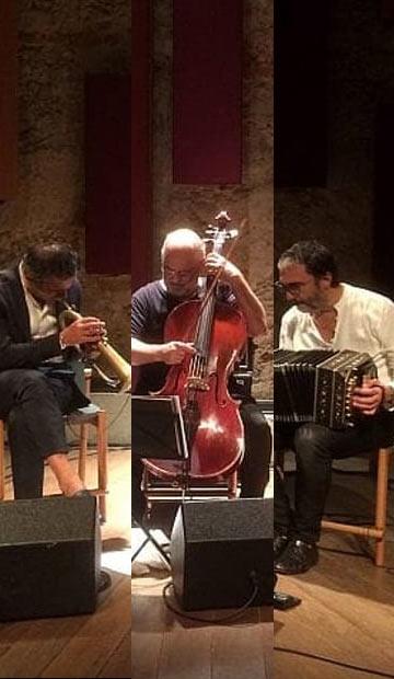 PAOLO FRESU & DANIELE DI BONAVENTURA With JAQUES MORELENBAUM